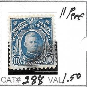 #288  PHILIPPPINES USED STAMP