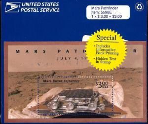 3178 Mint,OG,NH... Souvenir Sheet... SCV $6.00... In Original Packaging