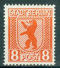 Germany - Russian Zone - Berlin-Brandenburg - Scott 11N3 MNH (SP)