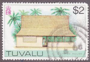 Tuvalu 36 USED 1976 Living House