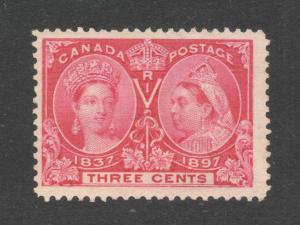 #53 Three Cents Bright Rose - Unused