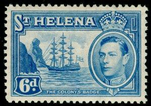 ST. HELENA SG136, 6d light blue, LH MINT.