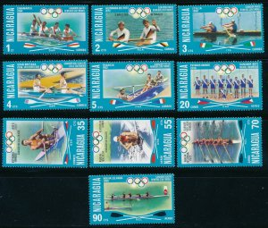 Nicaragua - Montreal Olympic Games MNH Sports Stamps Set (1976)