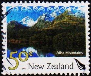 New Zealand. 2003 50c S.G.2598 Fine Used