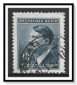 Bohemia & Moravia #64 Adolf Hitler Used
