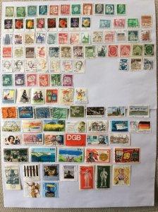 German 100+ stamps - Lot 5