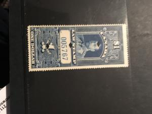 Canada 2000 Van Dam #FSC 17 Used Cat. $45 Punch Cancels attractive & Fine 1915$1