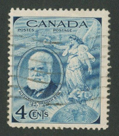 Canada SG 408 A Graham Bell  1947 Anniv   Good used