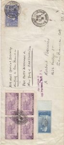 1936, France to New York, Airmail, See Remark (29147)