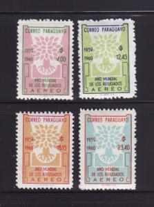 Paraguay C265-C268 Set MNH World Refugee Year (B)