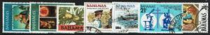 Bahamas 7 Used Stamps - Lot 021217