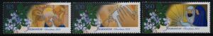 Jamaica 980-2 MNH Christmas, Flowers, Holy Family