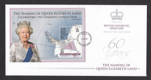 BAT 2013 Queen Elizabeth Land FDC