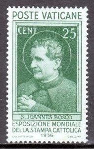 Vatican City - Scott #49 - MH - Pencil on reverse - SCV $45.00