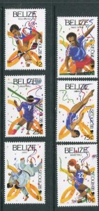 Belize #1699-1704 MNH