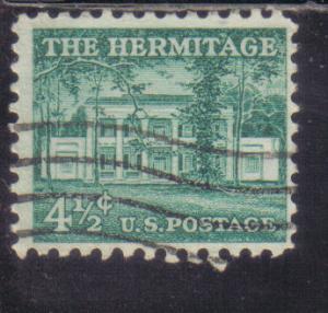 1037 - .04 1/2 Hermitage used f.