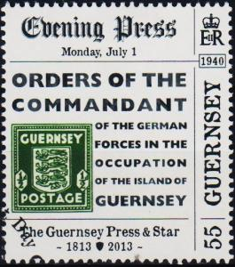 Guernsey. 2013 55p .Fine Used