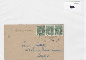 Nigeria 1949 stamps cover Ref 8707