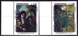 Honduras. 1995. 1249-50 from the series. 50 years of the UN. MNH.