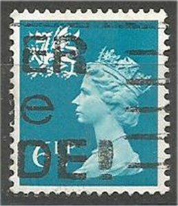 WALES & MONMOUTHSHIRE, 1971, used 6 1/2p  Marchins, Scott WMMH7