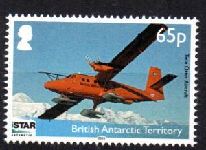 BRITISH ANTARCTIC TERRITORY - PLANE - ISTAR - 2014 -