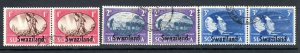 SWAZILAND    1946 VICTORY ISSUE   fine used