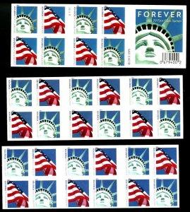U.S. #4560, 4562, 4564 MINT BOOKLET PANES