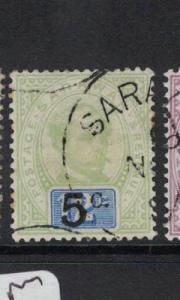 Sarawak SG 25a VFU (1dot)