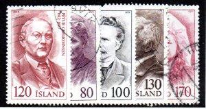 ICELAND 521-5 USED BIN $1.00 MUSICIANS