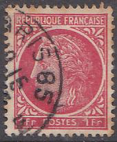 France 532 Hinged Used 1945 Ceres