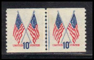 1519 Very Fine MNH Full Line Pair QA0133