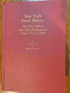 New York History by Kay & Smith 1982, Stamp Philately Book