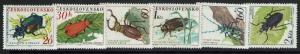 Czechoslovakia SC# 1144-1149, Mint Lightly Hinged - Lot 061117