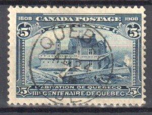 Canada #99 USED CDS (Nice Quebec cancel)
