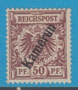 GERMAN COLONIES CAMEROUN 6 MINT HINGED OG NO FAULTS EXTRA FINE