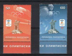 MACEDONIA - 2010 Winter Olympic Games - Vancouver, Canada   M1523