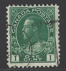 Canada Scott # 104, used