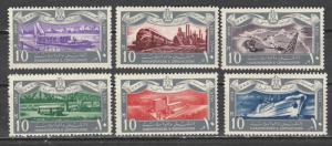Egypte  567-72  (N**)   1959  Complet