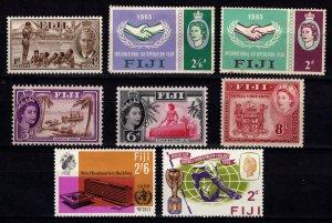 Fiji pre-1966 various Definitives, Omnibus & Royal Visit 1953 [Unused]