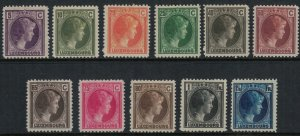 Luxembourg #159/80*  CV $4.15  The 1926 set