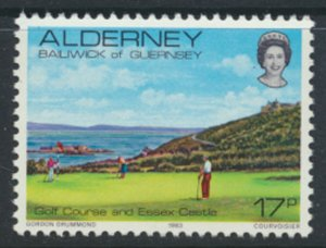 Alderney  SG A11  SC# 11 1983 Definitive   Golf  MNH  see scan