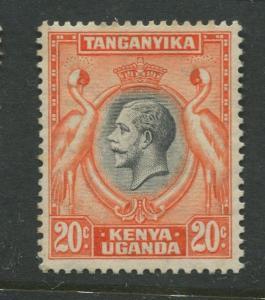 Kenya & Uganda - Scott 50 - KGV Definitive -1935 - MNH - Single 20c Stamp