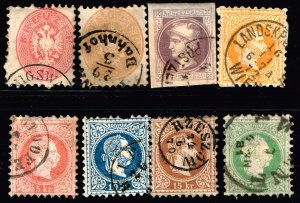 AUSTRIA STAMP USED STAMPS COLLECTION LOT  #2