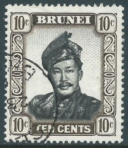 Brunei, Sc #89, 10c Used