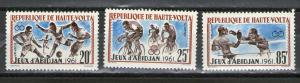 Burkina Faso 103-105 MNH