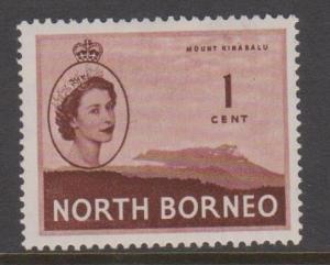 North Borneo Sc#261 MLH Pencil No on Back