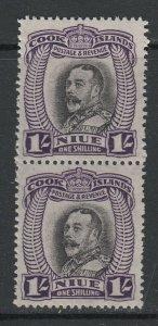 Niue, Scott 66 (SG 68), MNH pair
