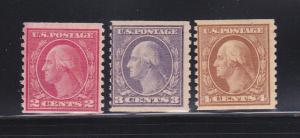 United States 492, 494-495 MH George Washington