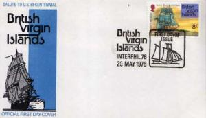 British Virgin Islands, First Day Cover, Americana