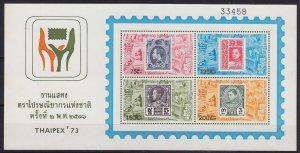 THAILAND [1973] MiNr 0688-91 Block 2 ( **/mnh ) Briefmarken